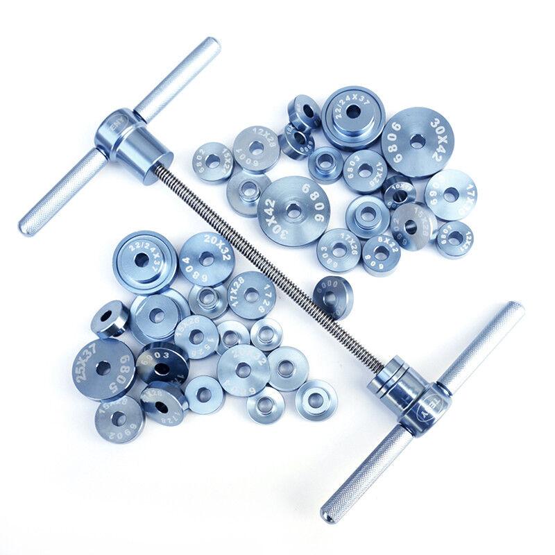 Soporte inferior de Bicicleta HUB & Rodamiento Pedalier Axis eliminación herramienta de instalación KIT de 25PCS