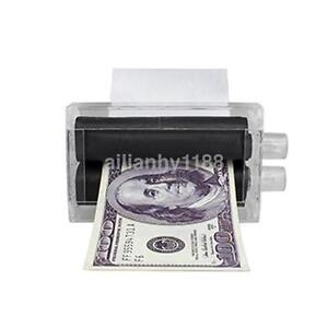Details about New Close-Up Magic Trick Dollar Money Printer Bill Printing  Machine Money Maker