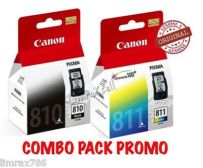 GENUINE CANON PIXMA PG-810XL /& CL-811XL INK CARTRIDGE FOR IP2270//2272 MP245MX32