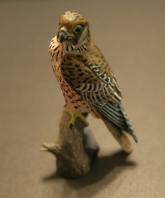 RARE Kaiyodo Choco Q Series 11 Eurasian Kestrel Falcon Hawk Raptor Bird B Figure