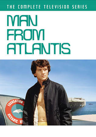 Man From Atlantis The Complete Television Series Dvd 2011 4 Disc Set For Sale Online Ebay