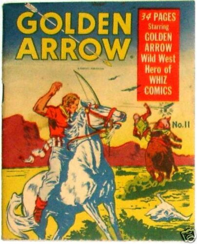 MIGHTY MIDGET COMICS GOLDEN ARROW 11 1942 FAWCETT RARE MINI VFNM SAMUEL LOWE CO.