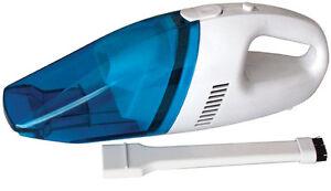 Car Valet Wash 12v High Power Wet & Dry Handheld Portable Vacuum Hoover Cleaner