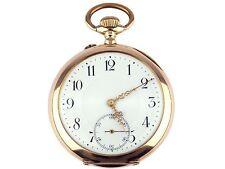 Cellini Marque Deposée 14 K 585 Gold mechanische Herren Taschenuhr 50 mm um 1900