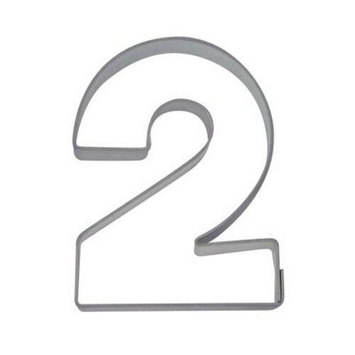 Emporte-pièce nombre 2 emporte-pièce deux chiffres 6,5 CM les citadins