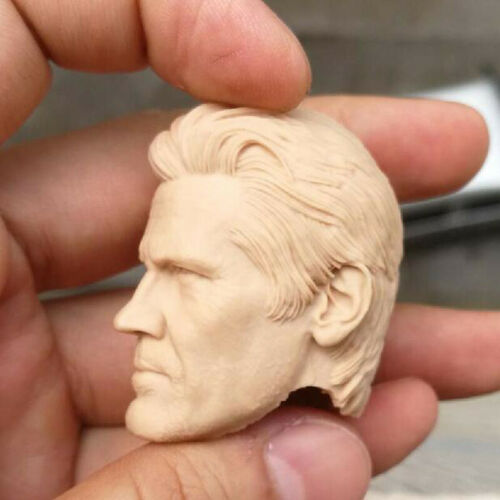 """Blank 1//6 Scale Sicario Josh James Brolin Head Sculpt Unpainted Fit 12/"""" Figure"""