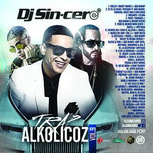 Details about DJ SINCERO Trap Alkolicoz 9 Reggaeton Latin Spanish Mixtape  CD MIX Daddy Yankee