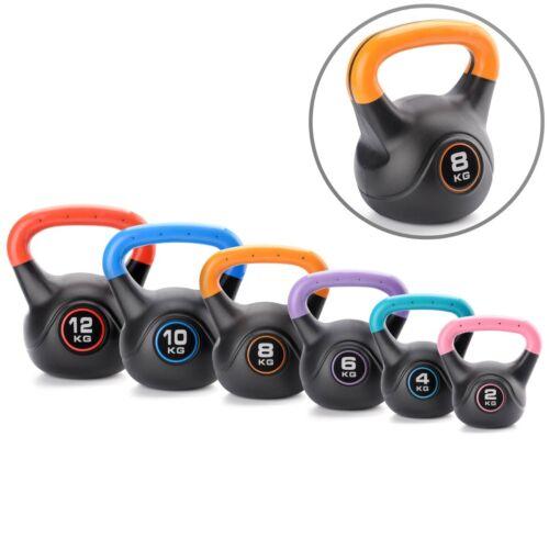 Vinyle Kettlebell Poids Musculation Kettlebells 2 kg à 12 kg Core Balance