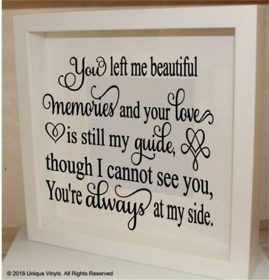 Vinyl Sticker Book Box Frame Quote Thank you for helping me grow Teacher