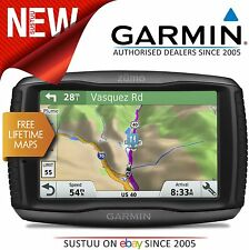 NUOVO Garmin Zumo 595LM MOTORCYCLE NAVIGATORE SATELLITARE GPS UK Europe Lifetime Maps aggiornamenti