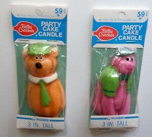 Hanna-Barbera-Betty-Crocker-Pioneer-Yogi-ours-bear-Momo-et-Ursul-Great-Grape-Ape
