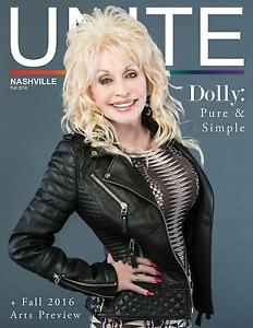 a14e6d8b5bc Image is loading Dolly-Parton-Unite-Magazine-2016-Issue-Nashville-Tennessee-