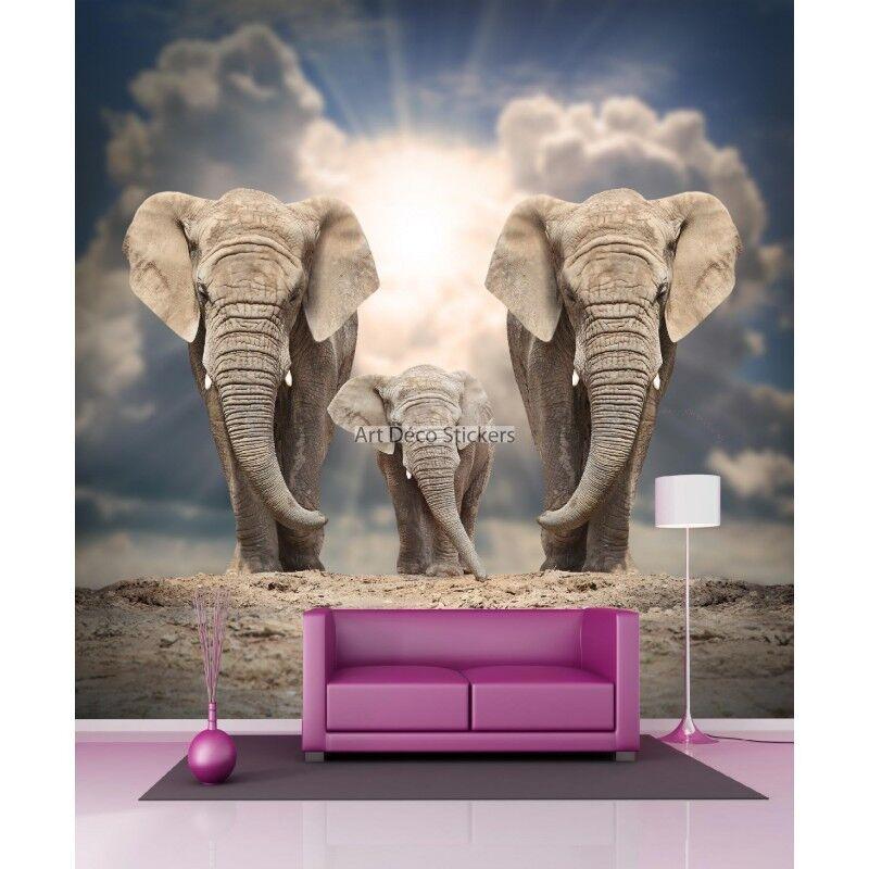 Adesivi Gigante Decocrazione Elefanti 11076 11076