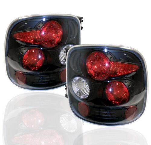 1999-2004 CHEVY//GMC SILVERADO SIERRA 1500 2500 STEPSIDE BLACK ALTEZZA TAIL LIGHT