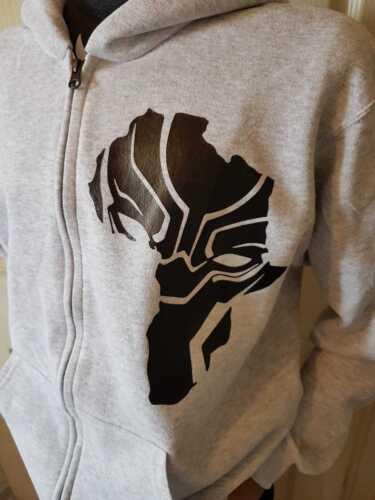 Black Panther Hoodie Wakanda Marvel Avangers Comics Movie Gift Graphic Hoody Top