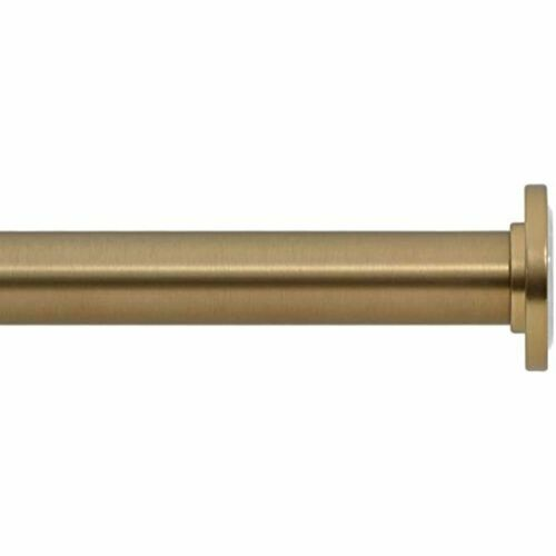Warm Gold Home 54 To 90 Inch Spring For Windows Shower Tension Curtain Rod