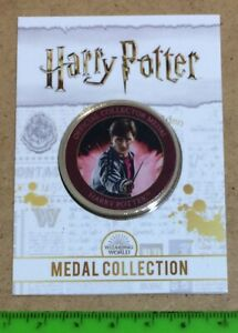 Harry Potter Collector Medal - Harry Potter Medal Collection - 24C G-P