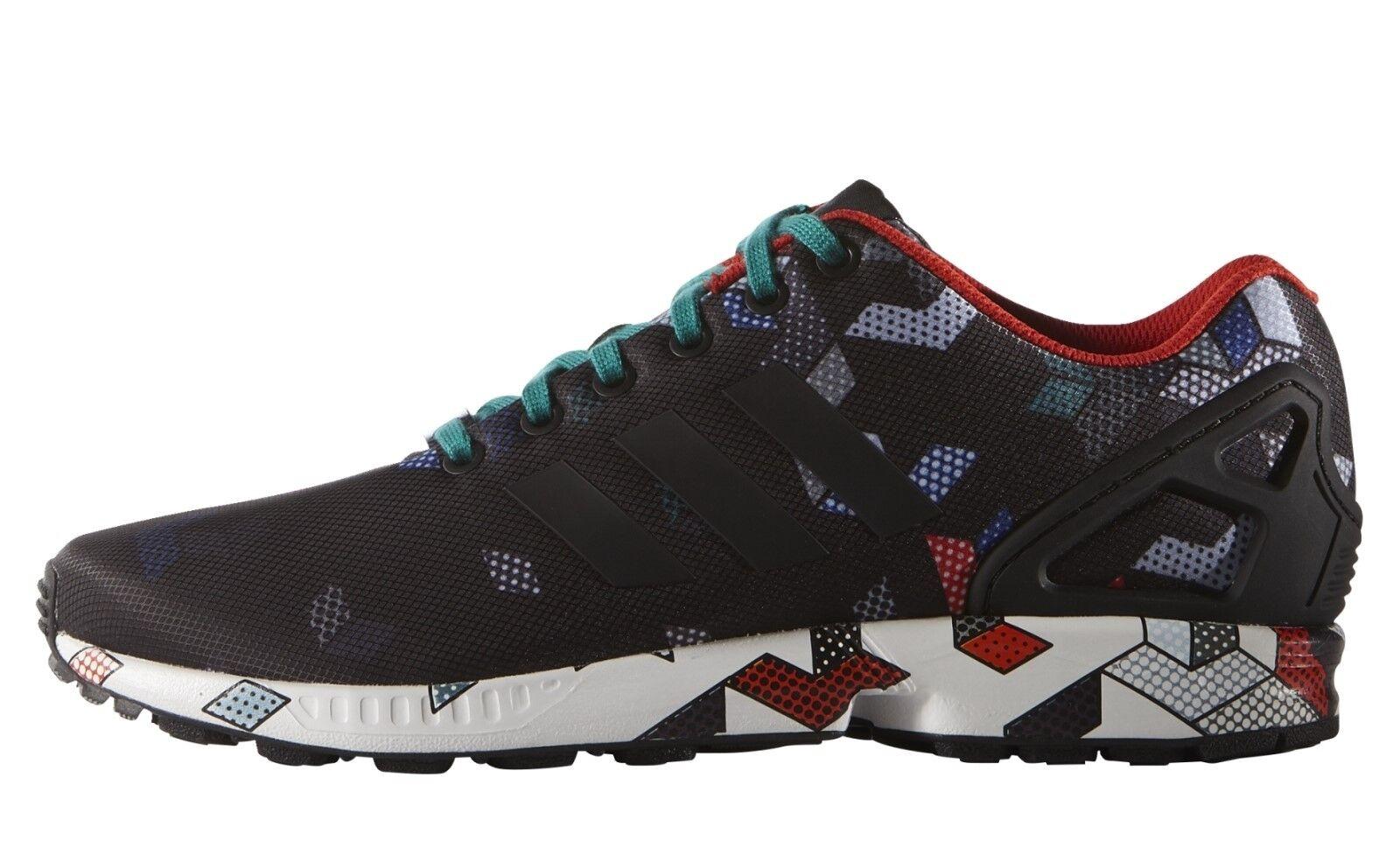 adidas Schuhe ZX FLUX S79095 schwarz Sneakers Schnürschuhe Turnschuhe NEU SALE