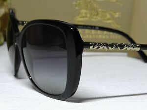 aac0d2884c12 Image is loading BURBERRY-B4238-Heritage-Lightweight-Check-Black-Gold-Frame-