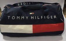 Vintage  Tommy Hilfiger Duffle Gym Bag  Spellout  Flag   90's