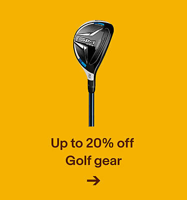 Up to 20% off Golf Gear