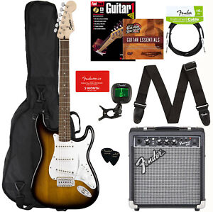 Fender Squier Stratocaster Pack - Sunburst Bundle