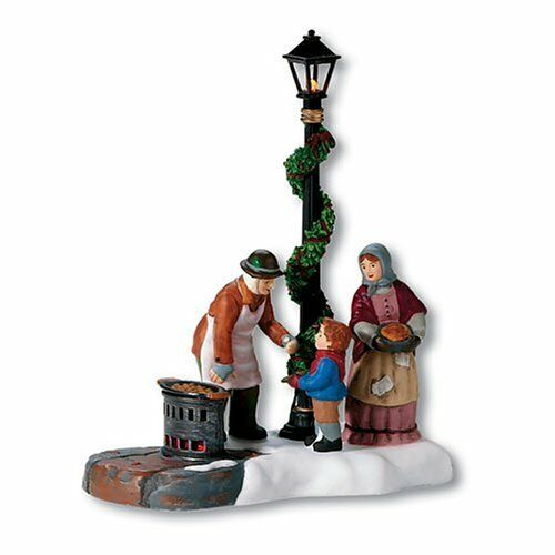 Department 56 Dickens' Village A Christmas Carol Chestnut Vendor Accessory