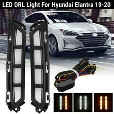 Drl Led Daytime Running Light White Yellow Signal For Hyundai Elantra 2019 2020