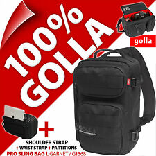 New Golla Garnet Pro Sling L Camera Case / Backpack / Rucksack Black for DSLR