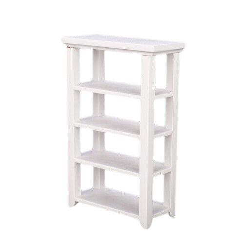 Regal Weiss 1:12 Dollhouse Miniature Furniture Wooden Study Z2H1