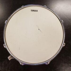 Used-Yamaha-13-034-X-4-034-Chrome-Snare-Drum-8-lug-Free-Shipping