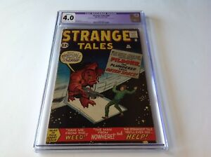 STRANGE-TALES-94-CGC-4-0-SAVE-ME-FROM-THE-WEED-HELP-DITKO-KIRBY-MARVEL-COMICS
