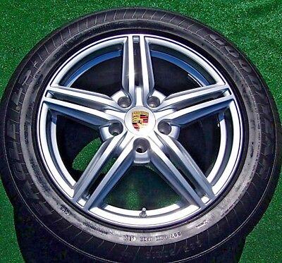 Set 4 New Genuine Oem Factory Porsche Cayenne S Design If09 19 In Wheels Tires Ebay