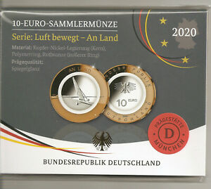 10 - Euro PP / Sammlermünze 2020 BRD. - Sulzbach, Deutschland - 10 - Euro PP / Sammlermünze 2020 BRD. - Sulzbach, Deutschland