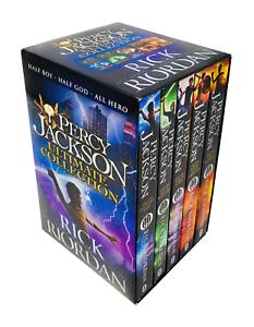 Rick-Riordan-5-Books-Collection-Set-Percy-Jackson-Series-Paperback-NEW