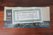 POLAROID LAND PICTURE ROLL 3000 SPEED / TYPE 37    --- NEW PRODUCT / 1961