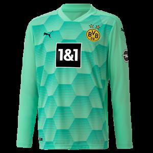Dettagli su PUMA BVB MAGLIA DA PORTIERE VERDE FLOCK Borussia Dortmund 2020/21 NUOVO- mostra il titolo originale