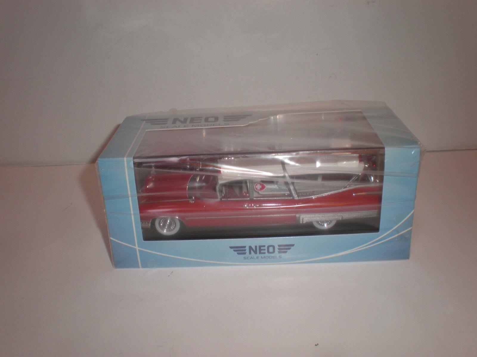1 43 1959 ILLAC SUPERIOR AMBULANCE Limousine NEO SCALE MODELS