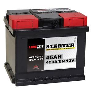 Autobatterie-12V-45Ah-420A-EN-ersetzt-44Ah-35AH-36AH-40AH-41AH-46AH-47Ah-50AH