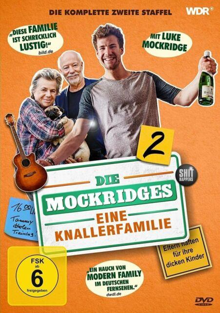 DIE MOCKRIDGES - EINE KNALLERFAMILIE   STAFFEL 2    DVD NEUF