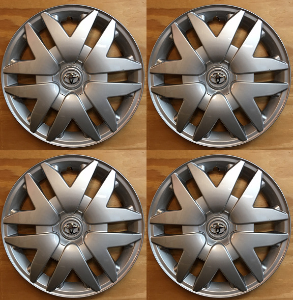 4 Replacement Hubcap for Toyota Sienna 2004 2005 2006 2007 2008 2009 2010 61124