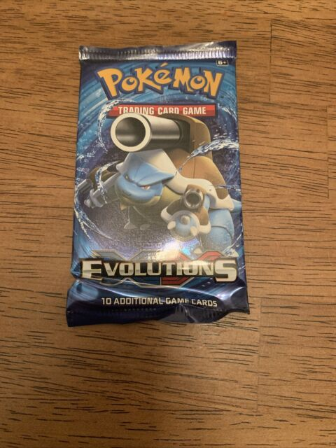 Pokemon XY Evolutions Sealed Booster Pack ( 1 PACK )