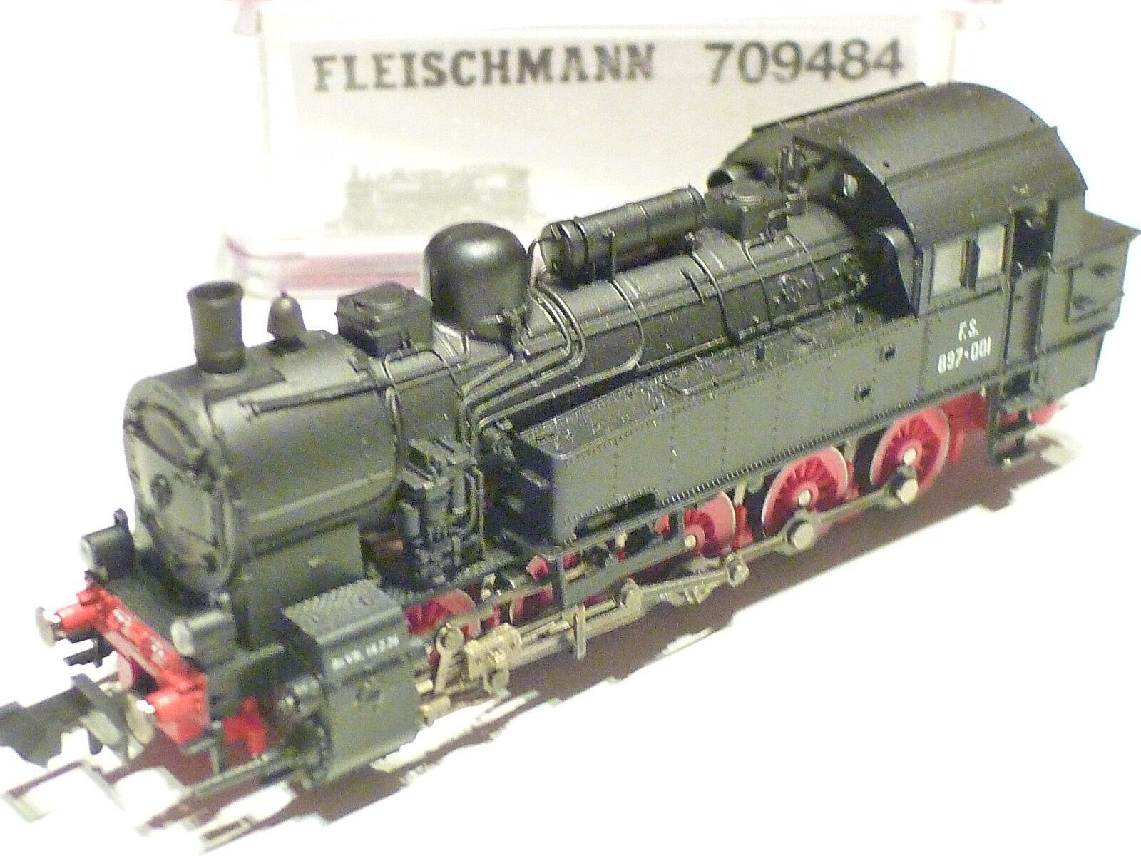 Fleischmann n FS 897-001 negro 709484 nuevo embalaje original digital