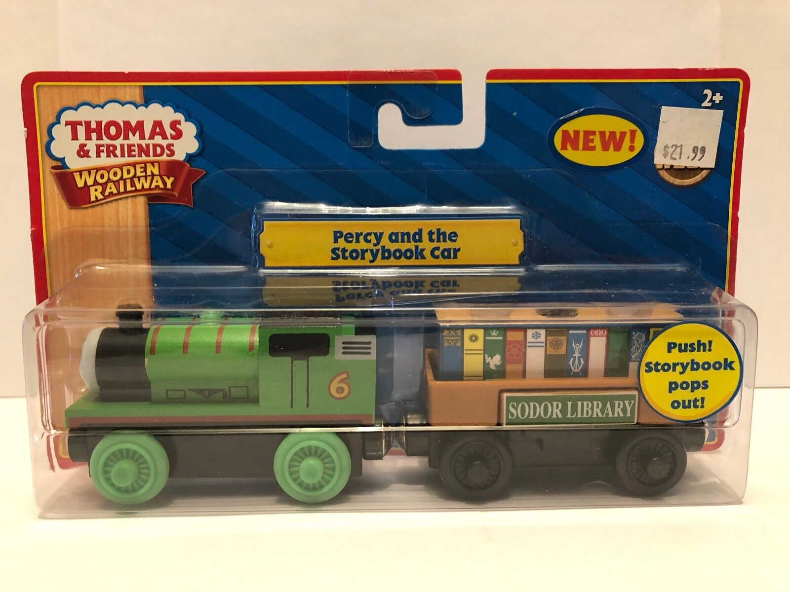 Thomas & Vänner träen järnvägway Percy och berättelsebok bil LC98058 NIB 2010