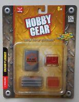 Cements & Bricks 1:24 Scale Diecast Garage Diorama Accessory Hobby Gear