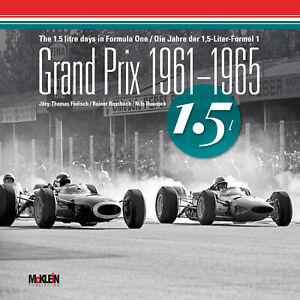 Grand-Prix-1961-1965-1-5-Litre-Formula-1-1-5-Litre-Formula-One-Book-Book-F1-GP