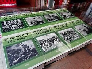 Storia-politica-del-mondo-UNEDI-1975-Opera-completa-8-VOLUMI