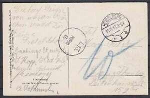 Dt-Reich-Heidelberg-unfrankierte-Fernpost-AK-Leipzig-1913-mit-L-13-Porto-St