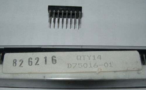 4 X Harwin D75016-01 16 broches Extra Tall Turned Pin IC Socket 826216