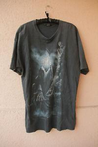 T-Shirt-034-Live-Now-Pay-Later-034-von-Spiral-Direct-grau-Gr-XL-Fantasy-Horror